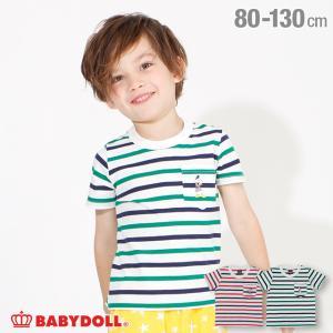 ベビードール BABYDOLL 子供服 通販限定 ディズニー Tシャツ マリン ボーダー 4076K キッズ 男の子 女の子 DISNEY|babydoll-y