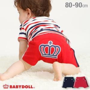 ベビードール BABYDOLL 子供服 通販限定 ショートモンキーパンツ マリン 4078B キッズ 男の子 女の子|babydoll-y