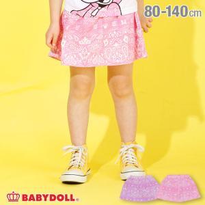30%OFF SALE  ベビードール BABYDOLL 子供服 ディズニー スカート ペイズリー柄 4095K キッズ 女の子 DISNEY|babydoll-y
