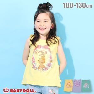 ベビードール BABYDOLL 子供服 ディズニー タンクトップ プリンセス チュニック 4111K キッズ 女の子 DISNEY|babydoll-y