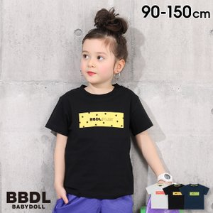 50%OFF SALE ベビードール BABYDOLL 子供服 BBDL Tシャツ ボックスロゴ 4127K キッズ 男の子 女の子 babydoll-y
