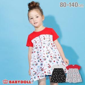 50%OFF SALE ベビードール BABYDOLL 子供服 サンリオ ワンピース 総柄 4153K キッズ 女の子|babydoll-y