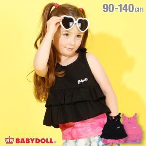 50%OFF SALE ベビードール BABYDOLL 子供服 タンクトップ キャミソール付き リボン 4179K キッズ 女の子|babydoll-y