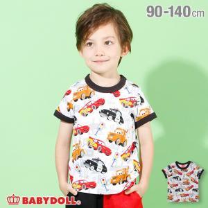 ベビードール BABYDOLL 子供服 通販限定 ディズニー Tシャツ 総柄 4196K キッズ 男の子 女の子 DISNEY|babydoll-y