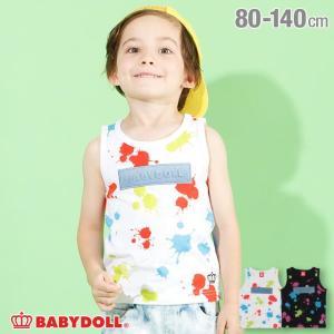 30%OFF SALE ベビードール BABYDOLL 子供服 タンクトップ ペイント 4241K キッズ 男の子 女の子|babydoll-y