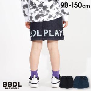 税抜1990円 SALE ベビードール BABYDOLL 子供服 BBDL スカート ストレッチデニム 4267K キッズ 男の子|babydoll-y