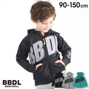50%OFF ベビードール BABYDOLL 子供服 BBDL パーカー ジップ BIGロゴ 4274K (ボトム別売) キッズ 男の子 女の子 babydoll-y