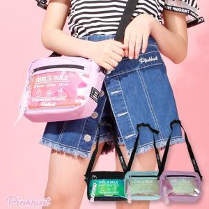ベビードール BABYDOLL 子供服 PINKHUNT PH ショルダーバッグ クリアポケット 4369 雑貨 キッズ ジュニア 女の子|babydoll-y