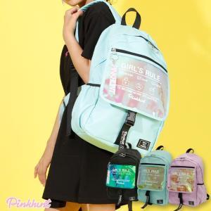 ベビードール BABYDOLL 子供服 PINKHUNT PH リュック クリアポケット 4370 雑貨 キッズ ジュニア 女の子|babydoll-y
