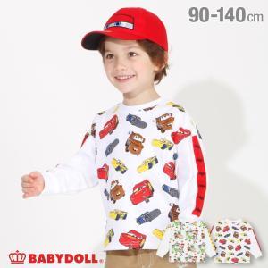 50%OFF SALE ベビードール BABYDOLL 子供服 ディズニー ロンT 袖ライン総柄 4420K キッズ 男の子 女の子 DISNEY|babydoll-y