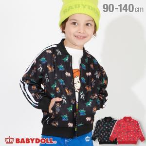 50%OFF SALE ベビードール BABYDOLL 子供服 ディズニー ジャケット 総柄 4437K キッズ 男の子 女の子 DISNEY|babydoll-y