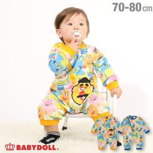 50%OFF ベビードール BABYDOLL 子供服 ディズニー ロンパース ポシェット 4631B ベビーサイズ 男の子 女の子 DISNEY|babydoll-y