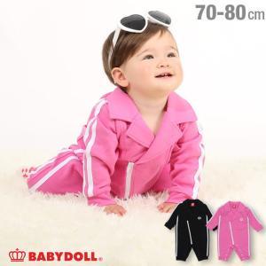 50%OFF ベビードール BABYDOLL 子供服 ロンパース ライダース 4666B ベビーサイズ 男の子 女の子|babydoll-y