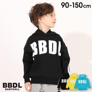 50%OFF ベビードール BABYDOLL 子供服 BBDL パーカー BIGロゴ 4680K キッズ 男の子 女の子 babydoll-y