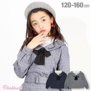 ベビードール BABYDOLL 子供服 PINKHUNT PH シャツ レース レイヤード 4812K (ボトム別売) キッズ ジュニア 女の子 babydoll-y