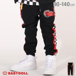 ベビードール BABYDOLL 子供服 ディズニー ロングパンツ サイド チェッカー 4820K (トップス別売) キッズ 男の子 女の子 DISNEY|babydoll-y
