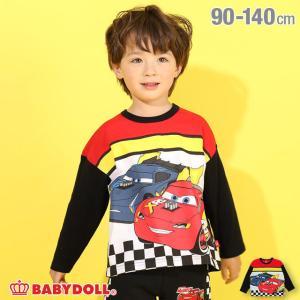 ベビードール BABYDOLL 子供服 ディズニー ロンT キャラ チェッカー 4822K キッズ 男の子 女の子 DISNEY|babydoll-y