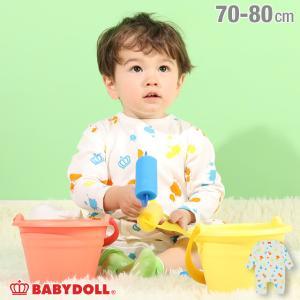 50%OFF SALE ベビードール BABYDOLL 子供服 ロンパース ペイント 4835B ベビーサイズ 男の子 女の子|babydoll-y