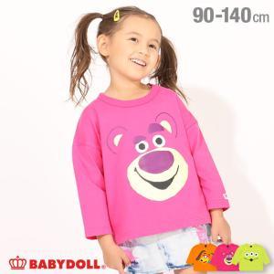 ベビードール BABYDOLL 子供服 ディズニー ロンT BIGフェイス ドルマン 4855K キッズ 男の子 女の子 DISNEY|babydoll-y