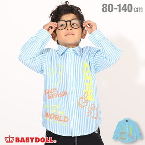 50%OFF SALE ベビードール BABYDOLL 子供服 ディズニー シャツ キャラ メッセージ 4873K キッズ 男の子 女の子 DISNEY|babydoll-y
