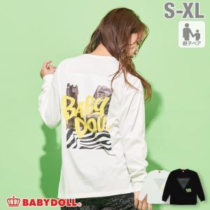 50%OFF SALE ベビードール BABYDOLL 子供服 ロンT バックプリント 4887A 大人 レディース メンズ babydoll-y