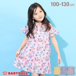 ベビードール BABYDOLL 子供服 ディズニー ワンピース プリンセス 総柄 4897K キッズ 女の子 DISNEY|babydoll-y
