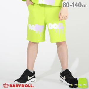 ベビードール BABYDOLL 子供服 ハーフパンツ ペイントロゴ 4905K (トップス別売) キッズ 男の子 女の子 babydoll-y