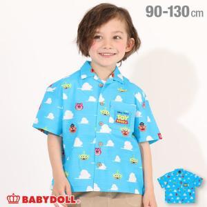 ベビードール BABYDOLL 子供服 ディズニー シャツ ビットマップ柄 4991K ベビーサイズ 男の子 女の子 DISNEY|babydoll-y