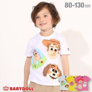 ベビードール BABYDOLL 子供服 ディズニー Tシャツ ビットマップキャラ 4993K キッズ 男の子 女の子 DISNEY|babydoll-y