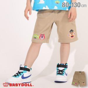 ベビードール BABYDOLL 子供服 ディズニー ハーフパンツ ビットマップキャラ 4995K ベビー 男の子 女の子 DISNEY|babydoll-y