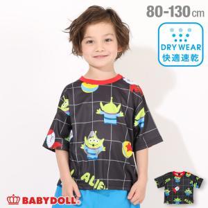 ベビードール BABYDOLL 子供服 ディズニー Tシャツ クレーンゲーム柄 4999K キッズ 男の子 女の子 DISNEY|babydoll-y