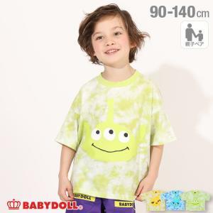 ベビードール BABYDOLL 子供服 ディズニー Tシャツ キャラタイダイ 親子お揃い 5003K キッズ 男の子 女の子 DISNEY|babydoll-y