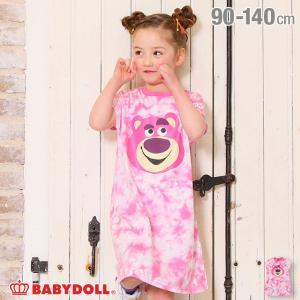 ベビードール BABYDOLL 子供服 ディズニー ワンピース キャラ タイダイ 5004K キッズ 女の子 DISNEY|babydoll-y