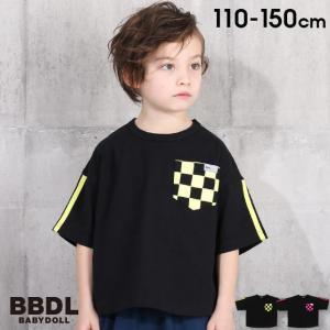 50%OFF SALE ベビードール BABYDOLL 子供服 BBDL Tシャツ チェッカー柄 5014K キッズ 男の子 女の子 babydoll-y