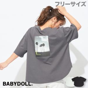 30%OFF SALE ベビードール BABYDOLL 子供服 Tシャツ バックプリント 5067A 大人 レディース babydoll-y