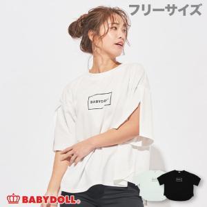 ベビードール BABYDOLL 子供服 袖スリット Tシャツ 5069A 大人 レディース|babydoll-y