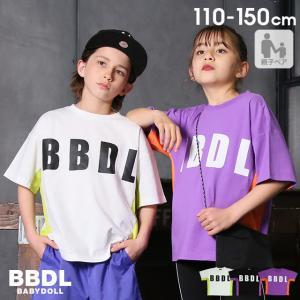 ベビードール BABYDOLL 子供服 BBDL Tシャツ サイドメッシュ 親子お揃い 5110K  キッズ 男の子 女の子|babydoll-y