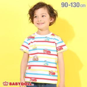 ベビードール BABYDOLL 子供服 ディズニー Tシャツ キャラボーダー 5134K キッズ 男の子 女の子 DISNEY|babydoll-y