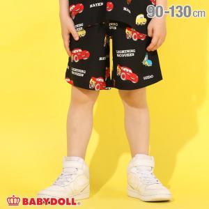 ベビードール BABYDOLL 子供服 ディズニー ハーフパンツ キャラ総柄レーヨン 5137K (トップス別売) キッズ 男の子 女の子 DISNEY|babydoll-y