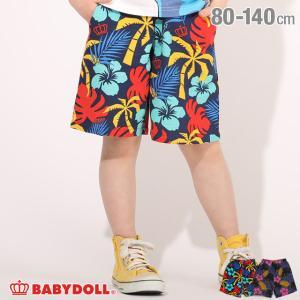 ベビードール BABYDOLL 子供服 ハーフパンツ カラフル総柄 パナマ 5140K (トップス別売) キッズ 男の子 女の子|babydoll-y