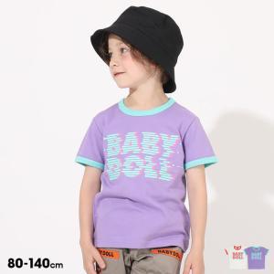 50%OFF SALE ベビードール BABYDOLL 子供服 Tシャツ ノイズ 5199K キッズ 男の子 女の子 babydoll-y