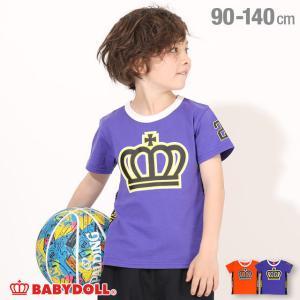 50%OFF SALE ベビードール BABYDOLL 子供服 Tシャツ ロゴライン 5204K キッズ 男の子 女の子|babydoll-y
