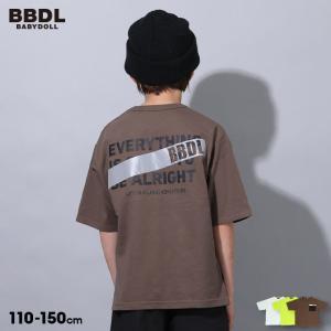 50%OFF SALE ベビードール BABYDOLL 子供服 BBDL Tシャツ バックメッセージ 5217K キッズ 男の子 女の子 babydoll-y