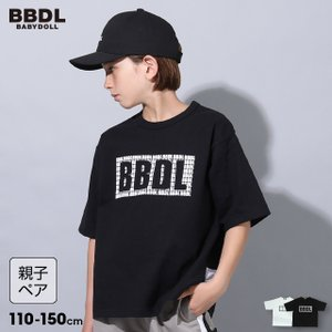 ベビードール BABYDOLL 子供服 BBDL Tシャツ メッシュ切替 親子お揃い 5220K キッズ 男の子 女の子|babydoll-y