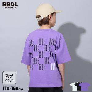 ベビードール BABYDOLL 子供服 BBDL Tシャツ リフレクタープリント 親子お揃い 5223K キッズ 男の子 女の子|babydoll-y