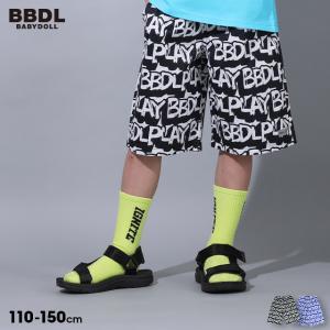 ベビードール BABYDOLL 子供服 BBDL ハーフパンツ 立体ロゴ 5226K キッズ 男の子 女の子 30v babydoll-y