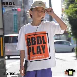 50%OFF SALE ベビードール BABYDOLL 子供服 BBDL Tシャツ ボックスプリント 5256K キッズ 男の子 女の子 babydoll-y