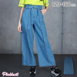 ベビードール BABYDOLL 子供服 PINKHUNT PH ワイドパンツ デニム 5298K キッズ ジュニア 女の子|babydoll-y