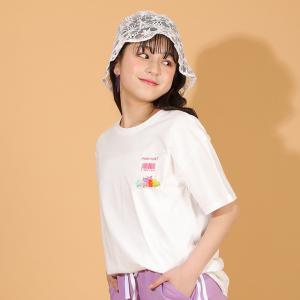 ベビードール BABYDOLL 子供服 PINKHUNT PH Tシャツ クリアTOY ポケ付き 5353K キッズ ジュニア 女の子|babydoll-y