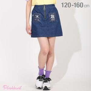 ベビードール BABYDOLL 子供服 PINKHUNT PH スカート クリアポケット デニム 5354K キッズ ジュニア 女の子|babydoll-y